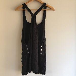af4766c738b BDG Pants - BDG Black Nicki Overall Romper